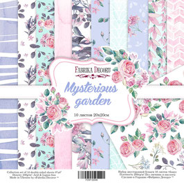 "Fabrika Decoru Double Sided Paper Set ""Mysterious Garden"""