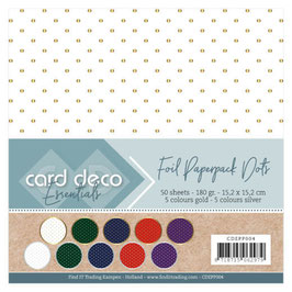 Card Deco Motivpapier Dots