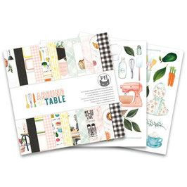 Piatek13 Motivpapier - Around the Table