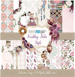 Papers For You Block Mini Wedding Boho Style