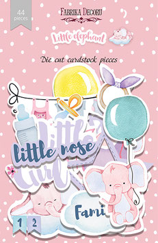 "Fabrika Decoru Die Cuts ""Little Elephant"""