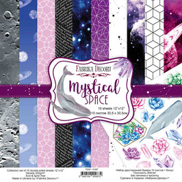 "Fabrika Decoru Paper Set 12x12 ""Mystical Space"""