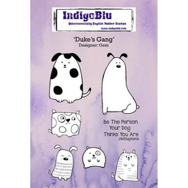 IndigoBlu - Rubber Stamps - Duke ´s Gang