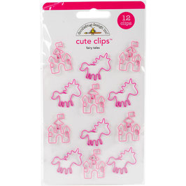 Doodlebug Cute Clips - Fairy Tale
