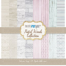 Papers For You Block Mini Pastel Wood