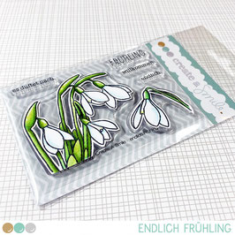 Create A Smile Clear Stamp A7 - endlich Frühling!