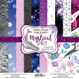 "Fabrika Decoru Double Sided Paper Set ""Mystical Space"""