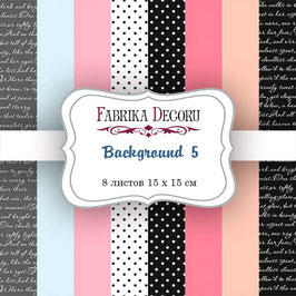 "Fabrika Decoru Motivpapier -  ""Background 5"""