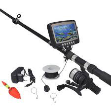 """Caméra de pêche avec écran 4,3"""""""