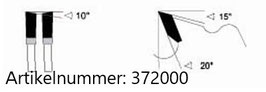Sägeblatt HM für Alu und PVC- Profile