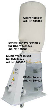 Oberfiltersack Baumwolle