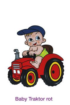 Baby Traktor Rot