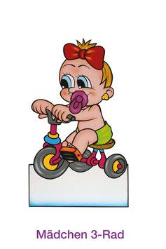 Mädchen 3-Rad