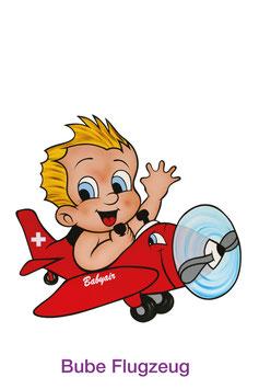 Bube Flugzeug