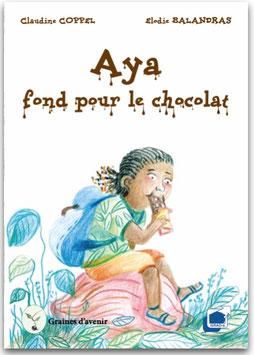 Aya aime le chocolat !