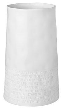 Raumpoesie breite Vase