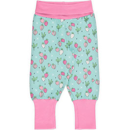 "Mitwachsende Babyhose Pants Rib ""Strawberry Fields"""