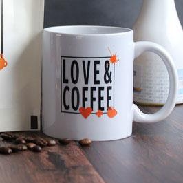 Love & Coffee Kaffeebecher