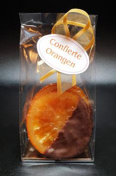 Confierte Orangen