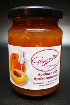 Aprikose mit Aprikosenwasser Konfitüre