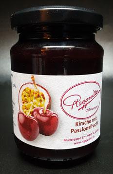 Kirsche mit Passionsfrucht Konfitüre