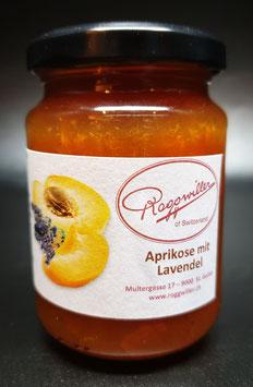 Aprikose mit Lavendel Konfitüre