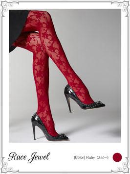 レースジュエルシアータイツ(ストッキング)Lace Jewel Sheer Tights (Panty hose)