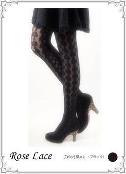 67%オフ!!ローズレースシアータイツ(ストッキング)Rose Lace Sheer Tights (Panty hose  )