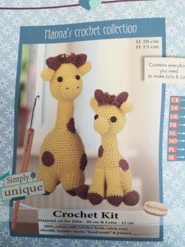Girafes Julia et Lotta.