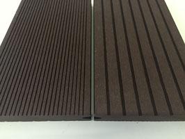 WPC Terrassendielen massiv 22 x 143mm Dunkelbraun
