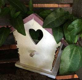 Pflanztopf Vogelhaus (ohne Efeu)