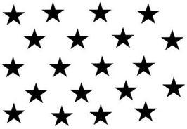 52 er Sterne- Set