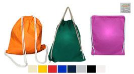 GYM Bags trendige Werbetaschen aus Baumwolle 500 Stück