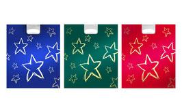 """Weihnachtstasche """"Sterne Gold"""""""