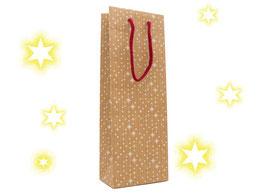 Weihnachtstragetasche für Flaschen ab 50 Stück Motiv Sternenzauber