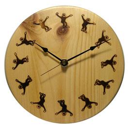 Maswood 焼き印時計