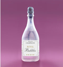 Seifenblasen Champagnerflasche