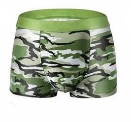 Military Short Hellgrün