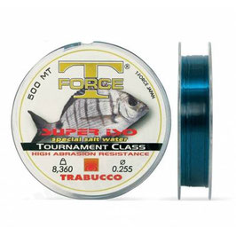 MONOFILO TRABUCCO T-FORCE SUPER ISO SPECIAL SALT WATER BOB DA 500 MT