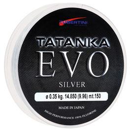 MONOFILO TUBERTINI TATANKA EVO SILVER IN BOBINA DA 350 MT