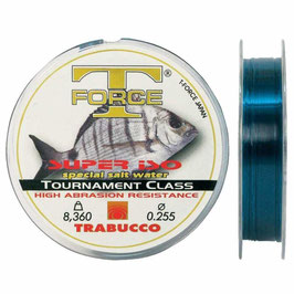 MONOFILO TRABUCCO T-FORCE SUPER ISO SPECIAL SALT WATER BOB DA 300 MT