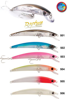 ARTIFICIALE RAPTURE SAPPHIRE MINNOW 110 MM  13 GRAMMI