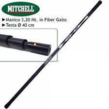 COMBO MITCHELL GUADINO TELESCOPICO DA 3 MT + CERCHIO 40CM