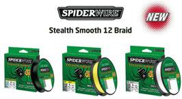 trecciato spiderwire stealth smooth x12 bob da 150 mt