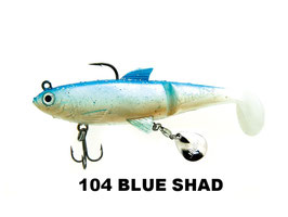 ARTIFICIALE MOLIX SHAD 100 SHIMBAIT 4""