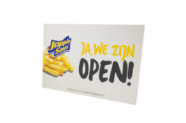Open/gesloten bordje Joppie® Original