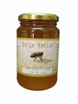 Miel de cantueso con romero y tomillo.