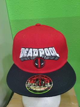 GORRA DEADPOOL MARVEL CÓMICS BÉISBOL