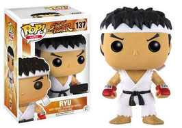 FIGURA POP! STREET FIGHTER (RYU - CINTA BLANCA) nº137