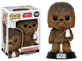 FIGURA POP! STAR WARS EPISODE VIII (CHEWBACCA & PORG) nº195